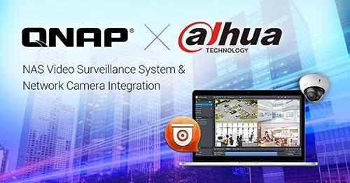 Dahua network cameras compatible with QNAP's NAS surveillance app