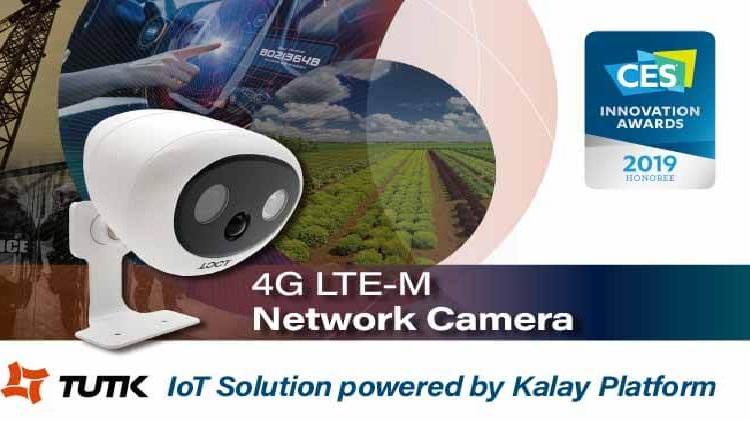 ThroughTek 4G LTE-M IP Camera