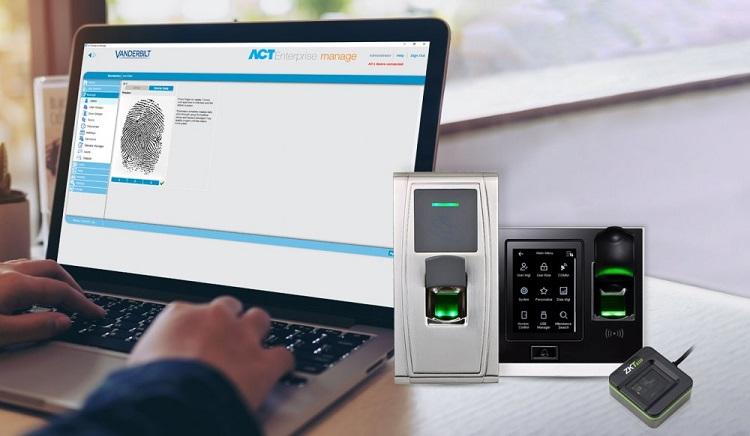 Vanderbilt adds ZKTeco Biometric readers into its access control portfolio