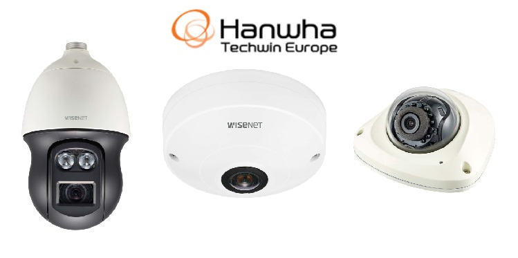 Hanwha Techwin introduces three new Wisenet Q cameras