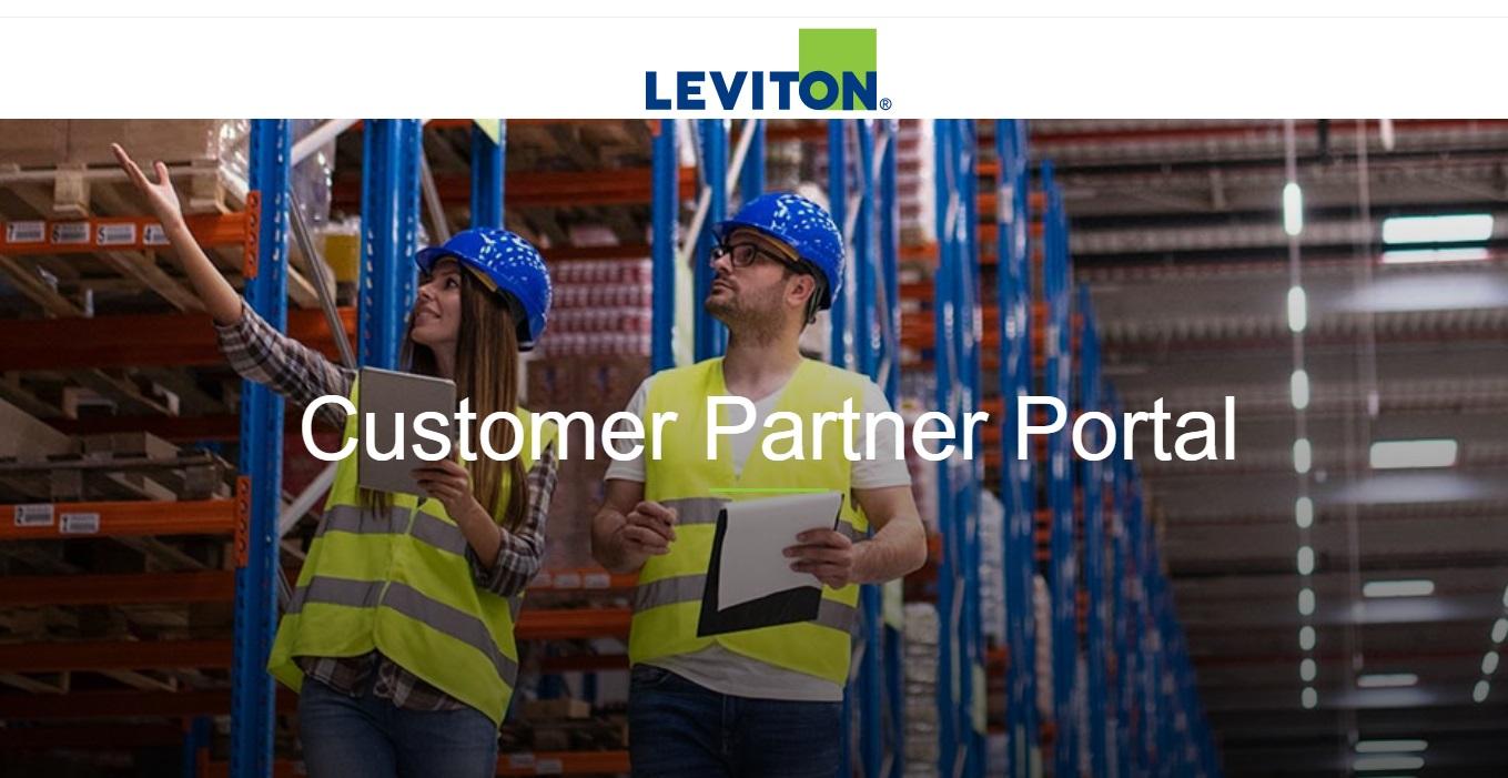Leviton B2B portal